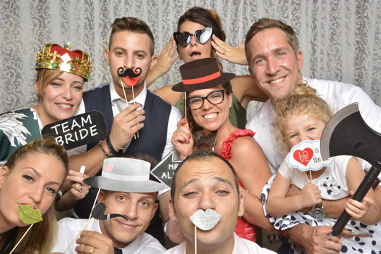 Photo Booth service and instant prints